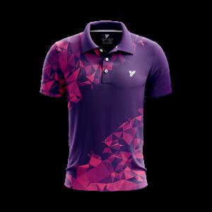 Polo-shirt MP059 paars
