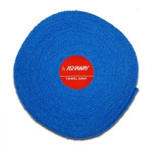 ashaway badstof grip rol 10m blauw
